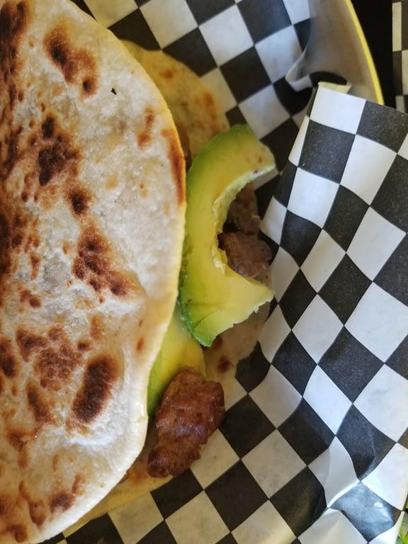The Wapo Taco with Asada