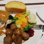 swedish meatball plate at idea