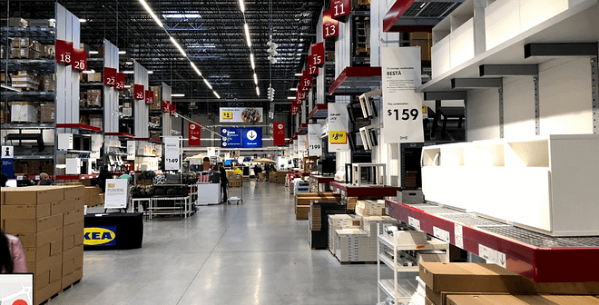 internal picture of ikea