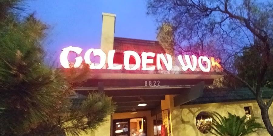 golden wok exterior